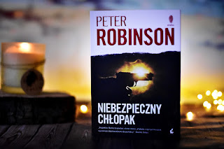 """Peter Robinson - """"Niebezpieczny chłopak"""""""