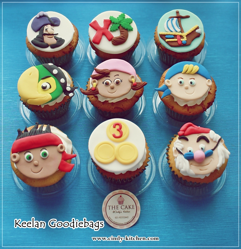 jake and the neverland pirates cupcakes - photo #2
