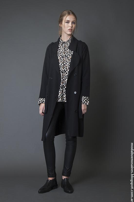 Moda otoño invierno 2016 ropa de mujer casual urbana. Bled invierno 2016.