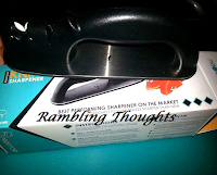 Rambling Thoughts, Priority Chef, Video, Review, Knife Sharpener