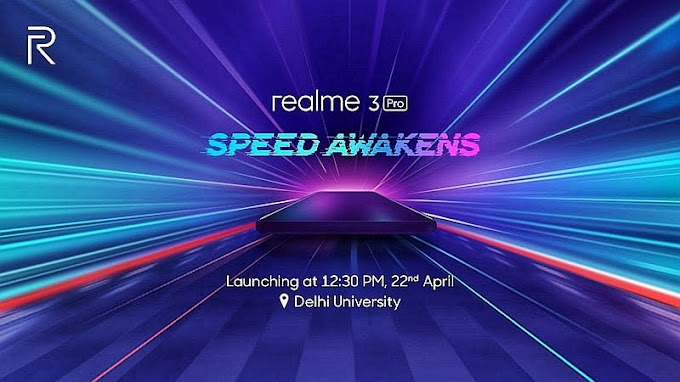 Realme 3 Pro to launch in India on April 22