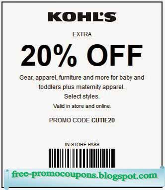 Kohls coupon code june 2018