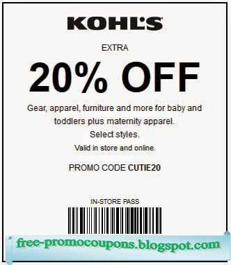 Kohls Coupon May 2019
