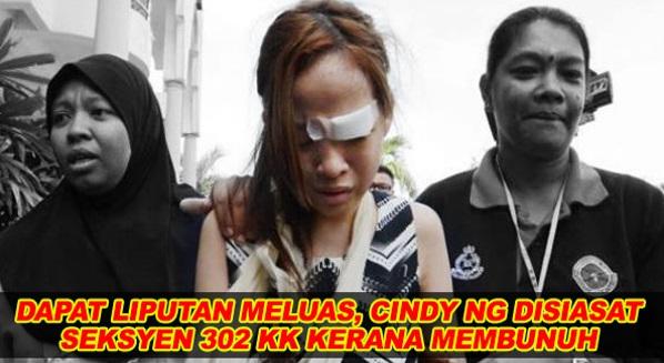 Dapat Liputan Meluas, Cindy Ng Disiasat Seksyen 302 KK Kerana Membunuh