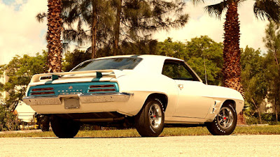 1969 Pontiac Trans AM Ram Air IV Rear Right