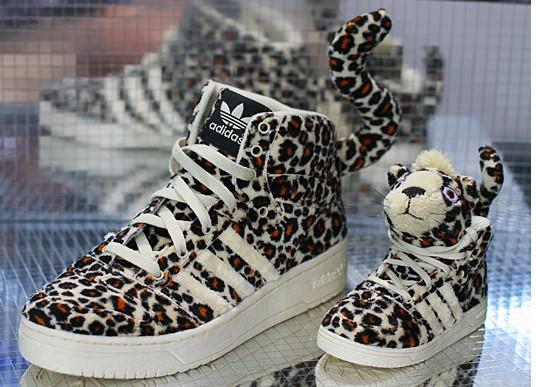 479030324972 Adidas Jeremy Scott Leopard Tail Sneakers