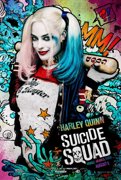 Poster Of Suicide Squad 2016 720p English HC HDRip Full Movie Download