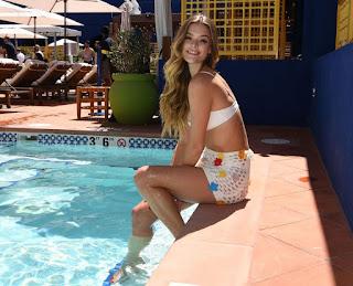 Nina Agdal At NoMad Pool Party in Las Vegas
