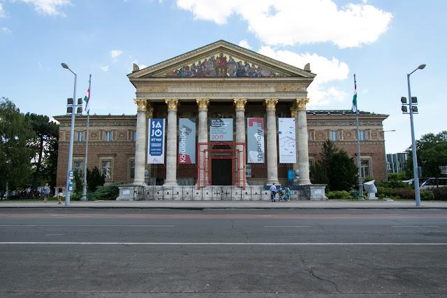 Museo al parco municipale-Budapest