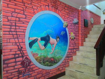 Mural Jogja, Mural jakarta, Mural, Jasa Mural, Mural Lombok, Lukis dinding, Wall Painting, Mural 3D
