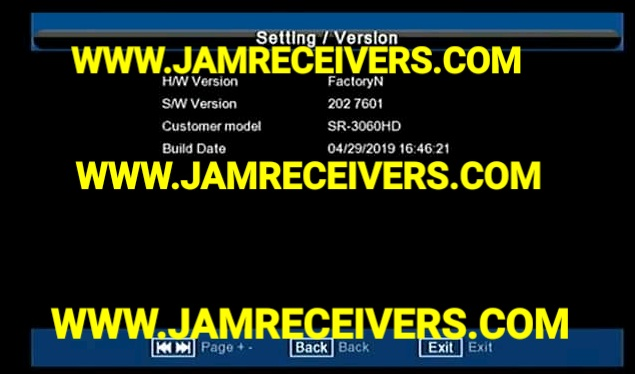 STARSAT SR-3060HD LATEST POWERVU SOFTWARE BY JAM RECEIVERS