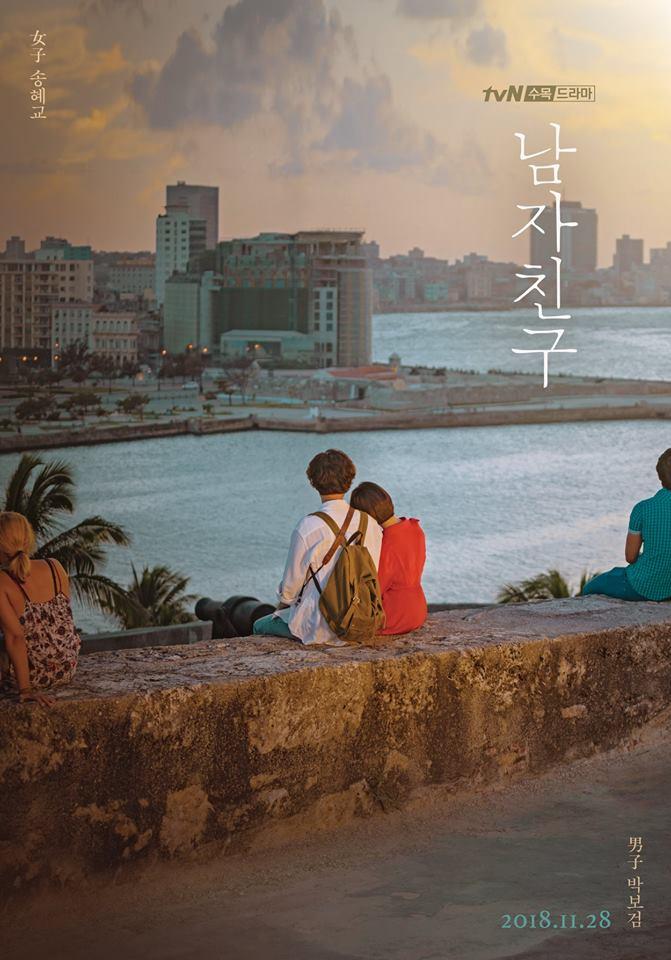 REVIEW K-DRAMA :  Encounter / Boyfriend (남자친구) - Kisah Cinta Berawal Dari Kuba