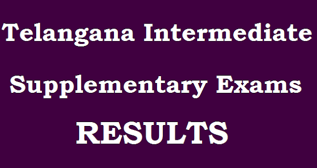 TS State, TS Inter Supplementary, Inter Results, TS Results, tsbie.cgg.gov.in, www.bie.telangana.gov.in, Advanced Supply Results, intermediate results