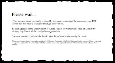 Komunikat wyskakujący przy próbie otworzenia formularza PIT bezpośrednio w przeglądarce Chrome