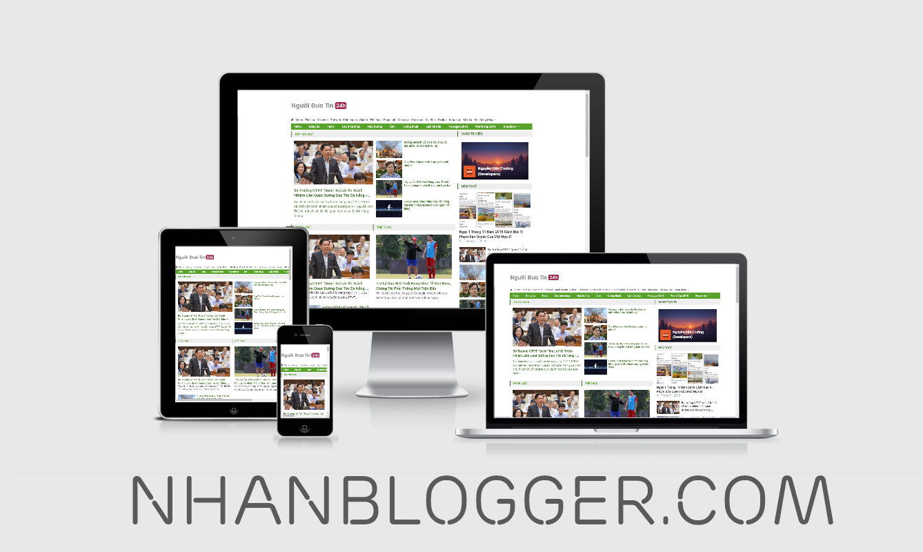 [NBG = 01] Template VNExpress - Professional Responsive Template for Blogspot
