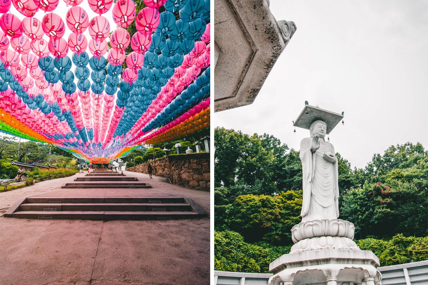 Temple bongeun-sa Gangnam Séoul