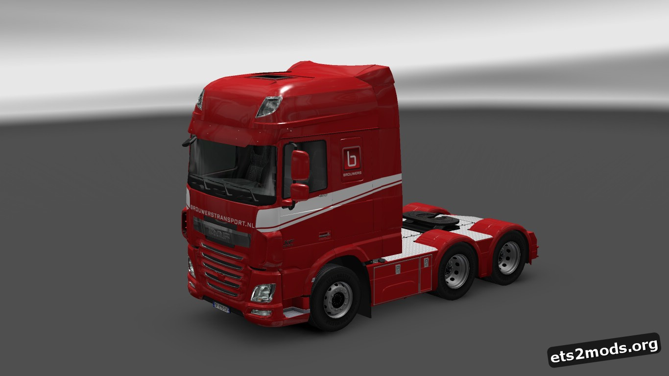 Brouwers Transport Skin for DAF Euro 6