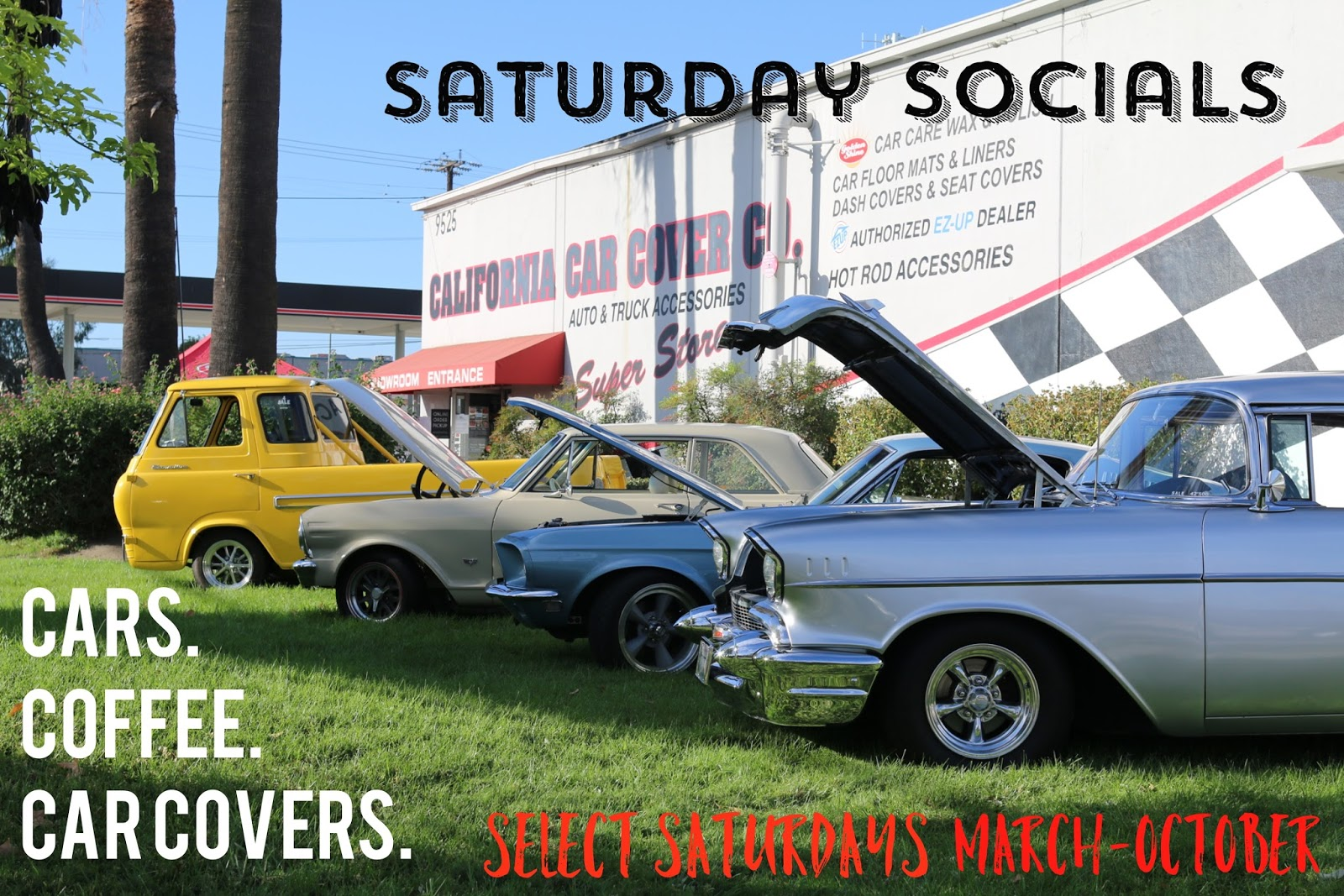 Covering Classic Cars Car Show Calendar At California Car Cover - Car show schedule