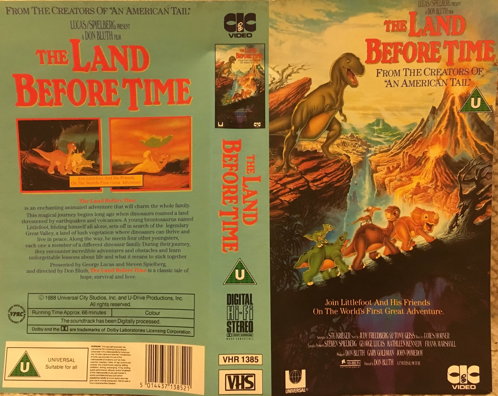 the spirochaete trail vhs verve the land before time aka some