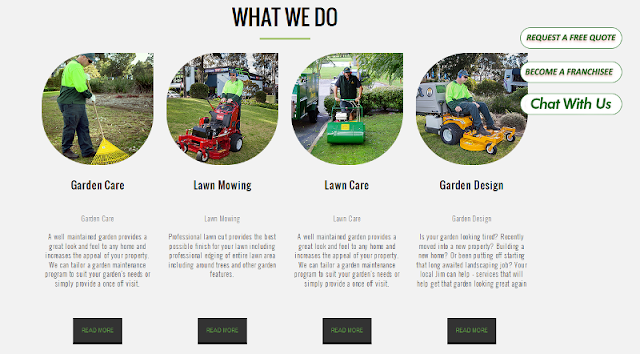 reputable lawn mowing and lawn care service provider