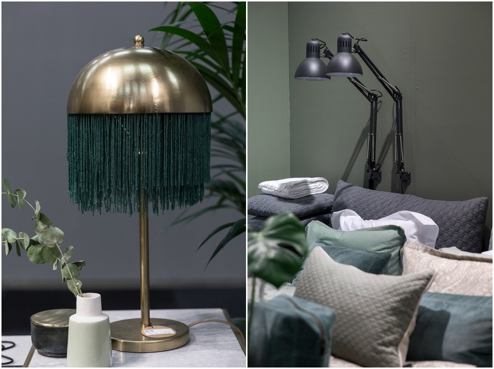 Formex, tradefair, sisustus, sisustaminen, inredning, interior, inspiration, spring, trends, trend, Visualaddict, photography, Frida Steiner, decor, decoration, trends2018, colours, home, colors, green, Nordal, lamps, brass