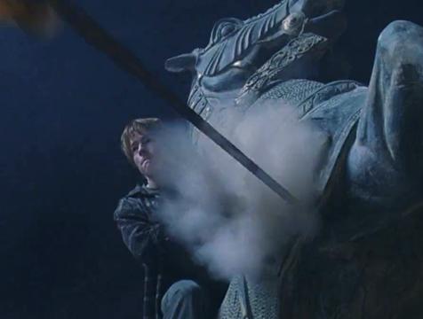 Doble de acción de Ron Weasley en Harry Potter y la piedra filosofal - Cine de Escritor