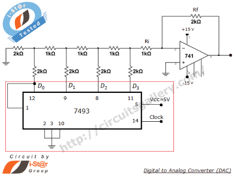 For Battery S For 36 Volt Wiring Diagrams Digital To Analog Converter Using R 2r Ladder Network And