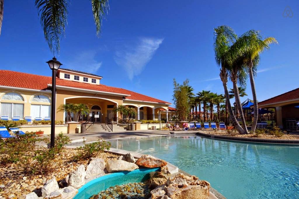 Frente Casa Terra Verde Resort  para alugar em Orlando