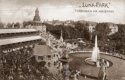 Luna Park de Berlín en 1930