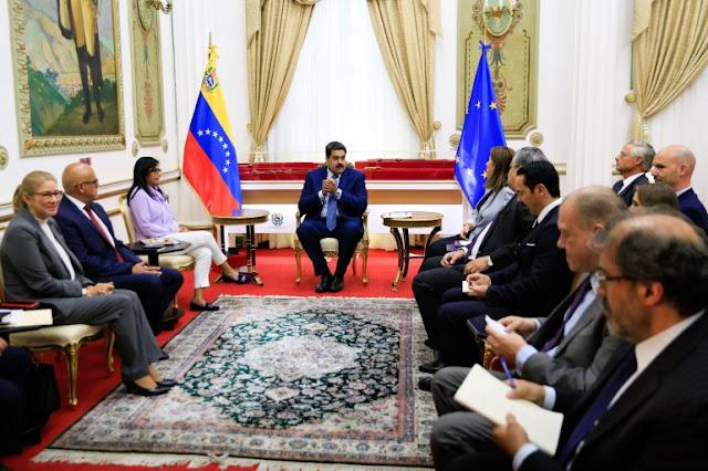 """Jefes de misión de la Unión Europea han instado a celebrar """"nuevas elecciones libres"""" en Venezuela"""