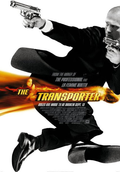 Poster Of The Transporter 2002 720p BluRay Dual Audio