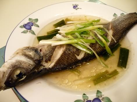 steamed fish in Miele Steam Oven