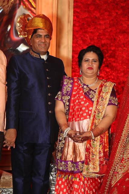 Groom's Parents Rakesh & Urmil Gupta-