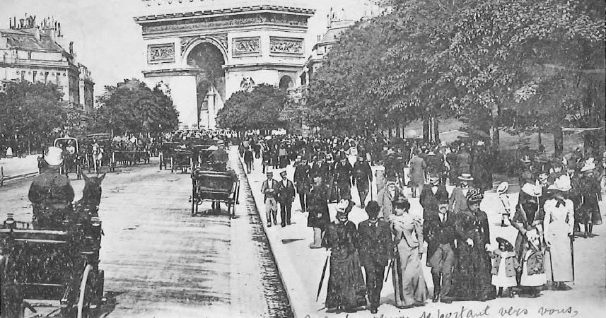 Le Blog de Callisto: L'Europe en cartes postales anciennes (1900-1914): Paris