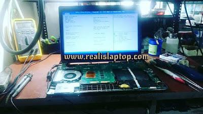 service laptop asus x401 mati total