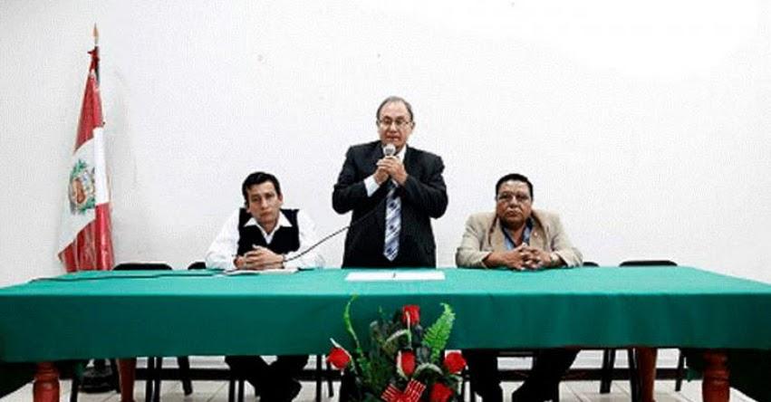 Nuevo Director de la DRE Cajamarca busca mejorar desempeño de escolares