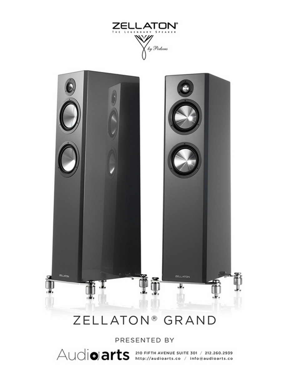 Wizard High-End Audio Blog: Zellaton Grand with Downfire Woofer