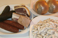 Fabada asturiana. Receta tradicional.