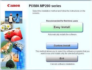 Cara Install Driver Printer Canon MP287 Ke Laptop dan Komputer Lengkap Dengan Gambar, download driver printer canon mp-287