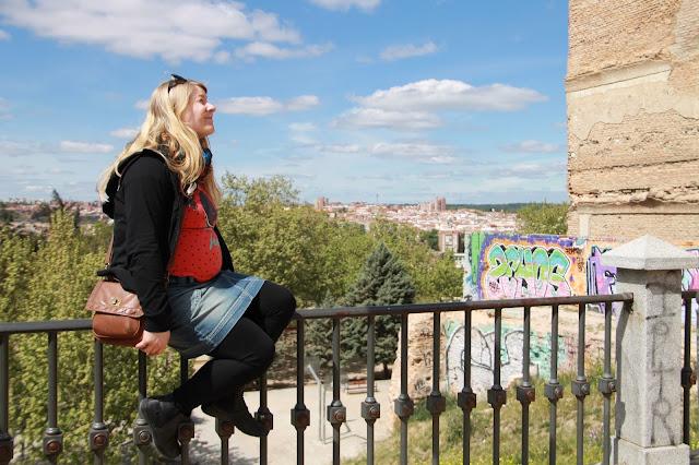 raskaana Madridissa näköala