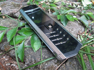 Hape Mewah Vertu V1 China Body Metal Kulit Koleksi Pribadi