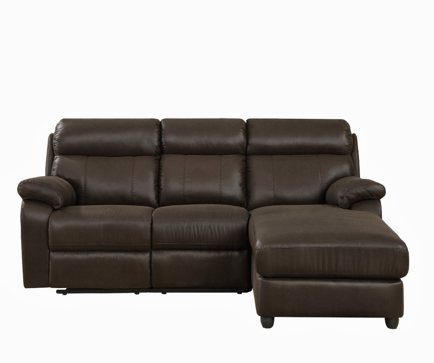Small Sectional Sofas Reviews: Small Leather Sectional Sofa