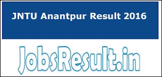 JNTU Anantpur Result 2016