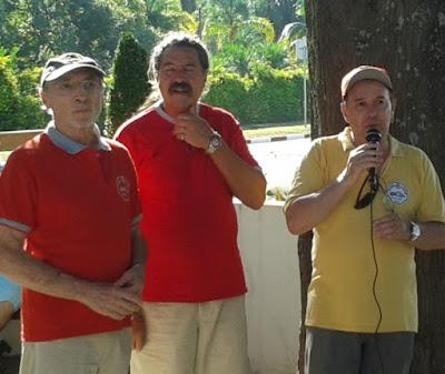 Percival Lafer, Romeu Nardini e Walter Arruda.