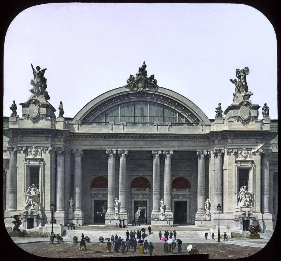 The 1900 Paris World S Fair In Color Photos Vintage Everyday