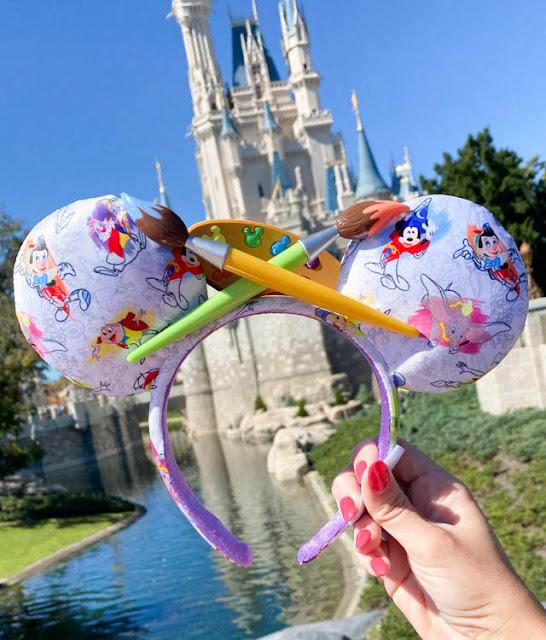 Ink & Paint Minnie Mouse Ear Headband
