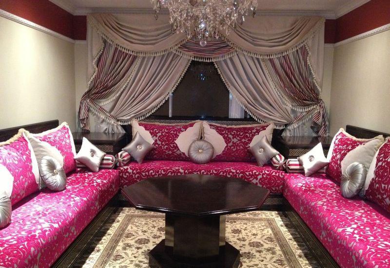salon marocain pascher