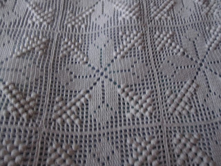 hæklet sengetæppe Annelises Kreativiteter: hæklet sengetæppe hæklet sengetæppe