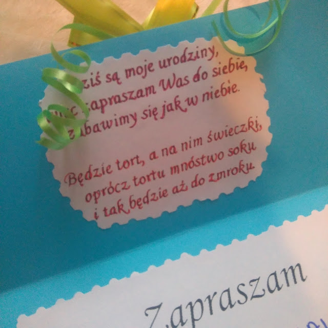 diy, zaproszenie na urodziny, jak zrobc zaproszenie