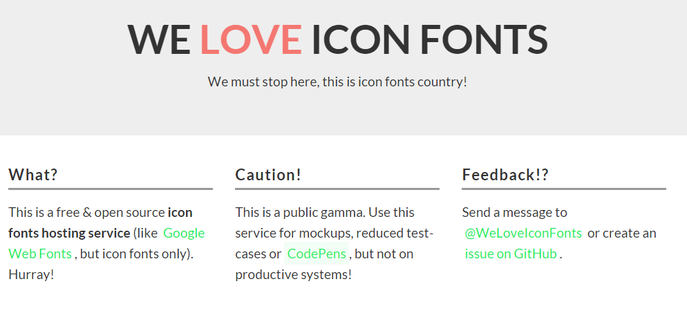 WeloveiconFonts